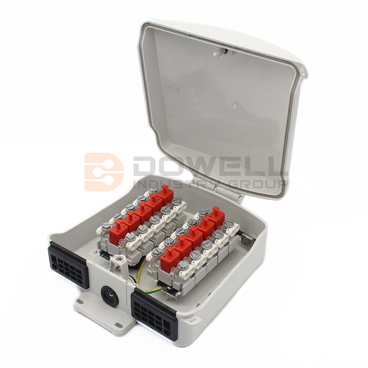 DW-3031 Networks 10 Pair Telephone Fiber Terminal Box For Stub Module