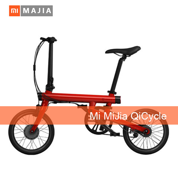100% Original Xiaomi Mijia Qicycle Electric Bike bicycle Mini foldable electric bicycle E-Bike for kids youth and adults 4colors