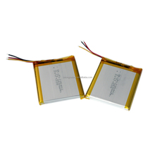 Lipolymer battery 606071 3.7v 3000mah cells with PCB and wires for quadcopter lithium ion polymer battery