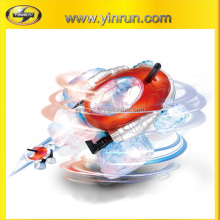 remote control spinning car with LED light for children