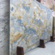 Newstar Vast Sky Blue Onyx Mable Marble Cheap Price In China For Countertop