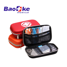 OEM mini sized EVA hard case Travel and Adventure First Aid Kit for auto, travel, camping and outdoor sports