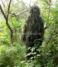 5pcs synthetic forest camo ghillie suit