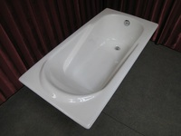 NH-018 1500/1700mm durable beautiful design Fanshion built in CAST IRON BATH TUB