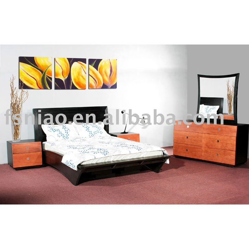 modern design hotel furniture bed A9105-AK