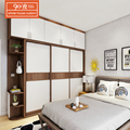 Hot selling popular modern design bedroom furniture sliding door armoire wardrobe