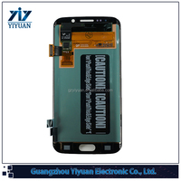High Quality Phone LCD for Samsung Galaxy S6 Edge G9250 Clone for Parts Replacement