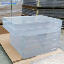 100mm thick Virgin Cast Acrylic sheet/PMMA sheet for Aquarium