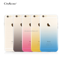 city&case decorative transparent cell phone cover for iPhone6 6s plus