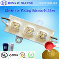 Addition cure silicone rubber for encapsulation and potting