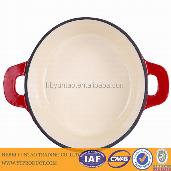 Kitchen accessory porcelain cast iron enamel cookware