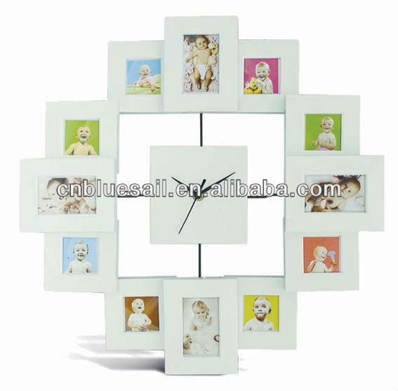 3x3 Photo Frame Clock
