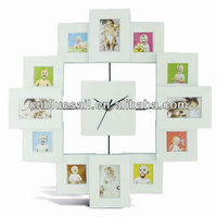 3x3 Quot Photo Frame Clock
