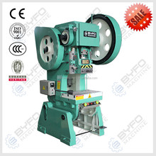Nanjing BYFO J21/J23 electric puncher,10 ton punch power press hole machine for sale