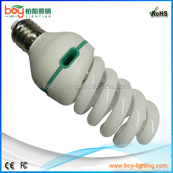 red green blue 3 in one 12w 15w 20w 30w 40w 50w B22 spiral energy saving bulb CFL bayonet B22 light bulb
