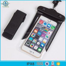 2017 ABS+PVC Material Waterproof Smart Phone Bag for iPhones Compatible Brand