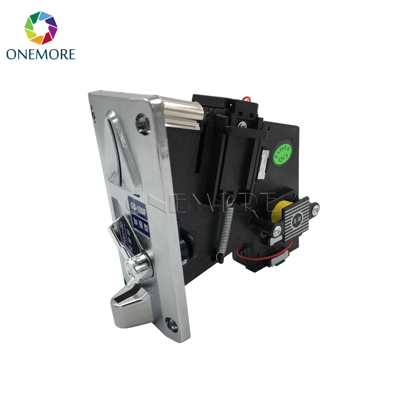 Bill acceptor/mechanical coin acceptor for vending game machine