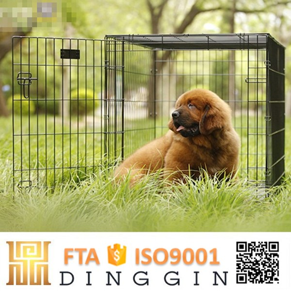 Wholesale retractable dog cage kennel