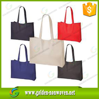 newly bag ecological promotional pp non woven bag/nonwoven shopping bag/advertisement pp non-woven supermarket bags