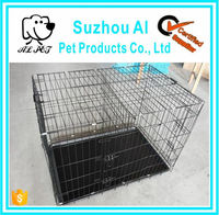 Double Doors Folding Metal Pet Supplies XXL Dog Crate