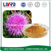 Crude Medicine Natural Milk Thistle Fruit Extract Powder