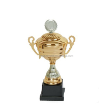 Gold plating high quality sports trophy metal cup