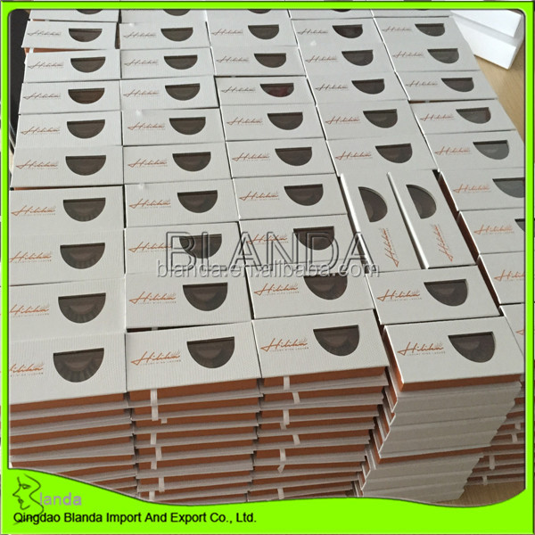 2020 New Style cruelty free mink eyelashes 25mm 3d mink lashes private label eyelashes package box with your logo