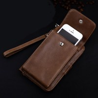 Genuine leather wallet cases