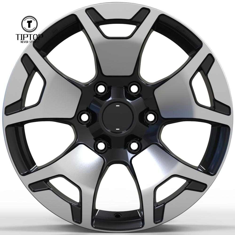 2018 New style 17 inch alloy <strong>wheel</strong> Japanese car <strong>wheel</strong> 6x139.7 made in Chinese factory fit for hilux 2018