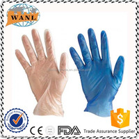 Disposable Medical Powder Free / Powdered Vinyl Gloves