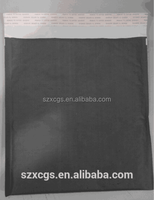 Black kraft bubble mailers/clothes packing mailer with logo