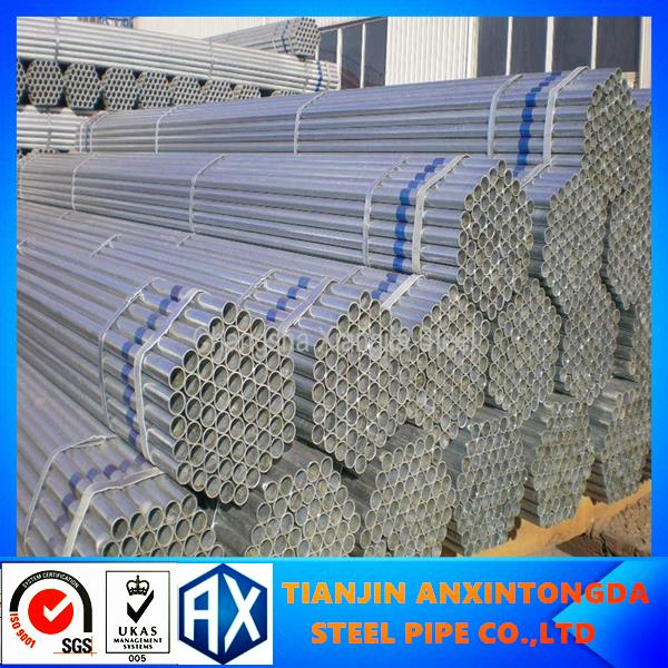 top product 1 2 hot dip galvanized steel pipe tube!galvanized steel pipe post and rail fencing carbon steel pipe