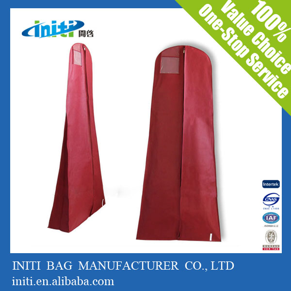 China supplier best selling new design long dress garment bag