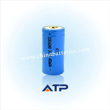 rechargeable battery ICR16340 mobility scooter lithium battery 400mah 3.7 v