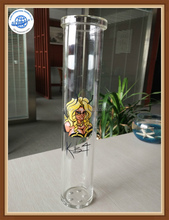 accurate cutting borosilicate glass tube for lab ware/smoking pipe