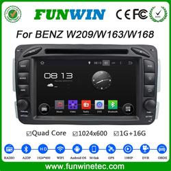 Funwin Android 4.4.4 car gps radio 2 din for Benz W209 w639 dvd player android 2004 - Onwards TV tuner