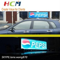 Low price advertising a business mobile trailer led sign