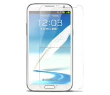 lcd tv screen protector for samsung note 2 anti-scratch 9h hardness tempered glass for samsung note2