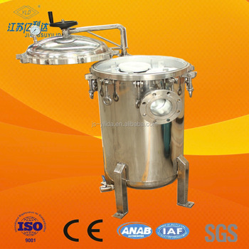 Multi Round Bag Filter Housing SS For Mud Filtration
