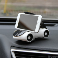 Hot Sell Novelty Sports Car Model Smart Hand Phone Stand Decorative Dashboard Desktop Car Mobile Cell Phone Holder
