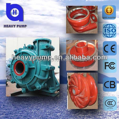 high volume chrome volute liner slurry pumps ( durable in use)