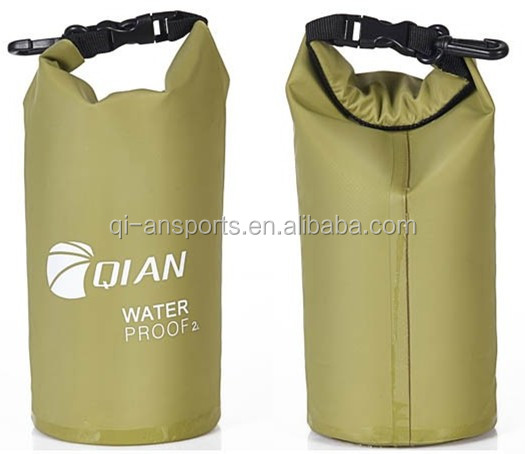 Roll Top Waterproof Dry bag For Boating Kayaking Beach Trips