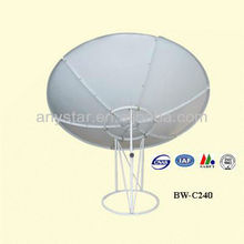c band 2.4m dish antenna/satellite tv antenna