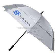 "27""*8k high quality double layers fiberglass golf umbrella"
