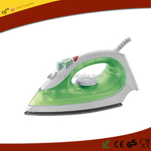 2016 fashion wholesale large size electric plastic steam iron