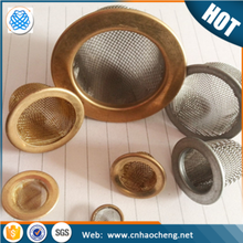 50 mesh plain weave copper clad stainless steel filter cap