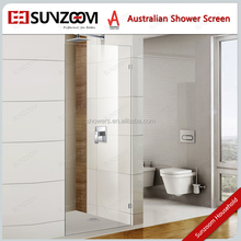 Sunzoom Big Glass Door 8mm 10mm 12mm tempered glass walk in screen