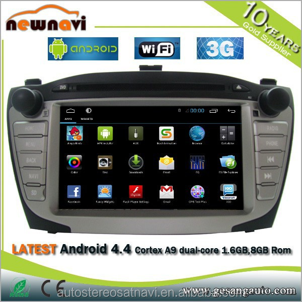 7 Inch Android 4.4.2 GPS Navigator car dvd player with Car DVR, 1024x600, 8GB of Internal Memory, WiFi