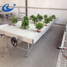 Work Benches Ebb and Flow Rolling Table/ Bench/Seedbed Systems growflood plastic trays