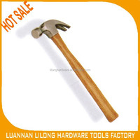 Claw Hammer with Hard Wood Handle